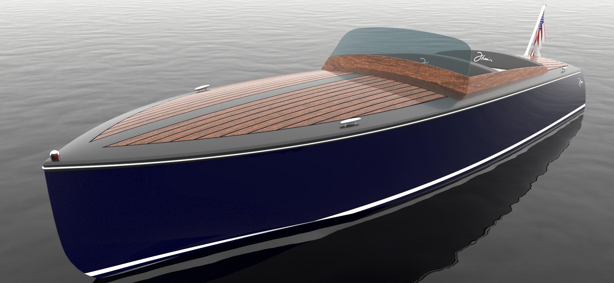 Thain Electric Boat Company 16e